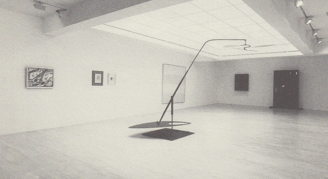 'Portrait of an American Gallery' Exhibition Brussels 1990