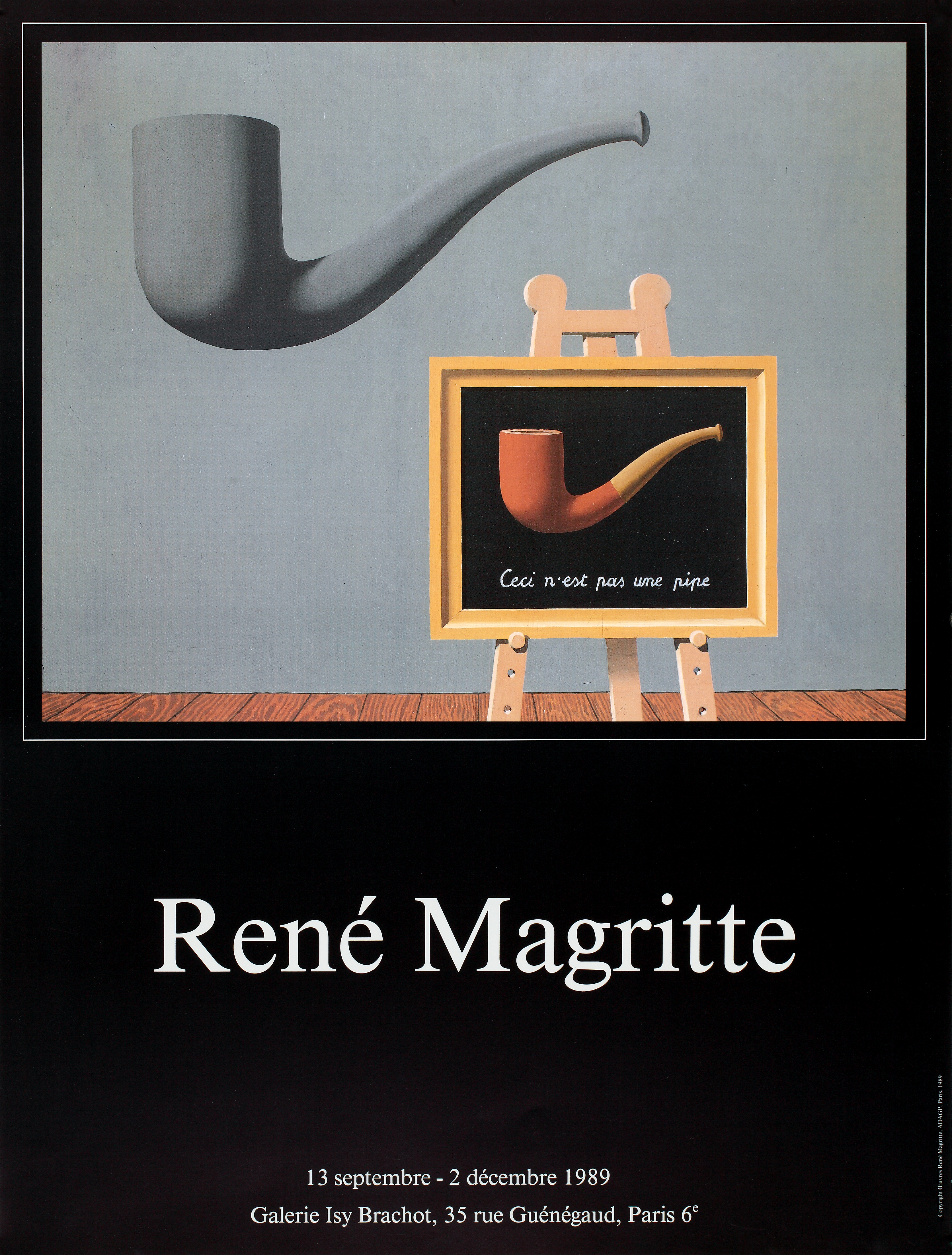 Expo Magritte Galerie Isy Brachot